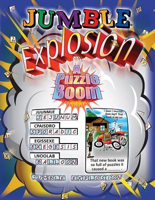 Jumble Explosion By Arnold, Henri/ Lee, Bob/ Argirion, Mike